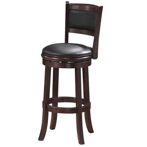 Armless Bar Stool - Cappuccino