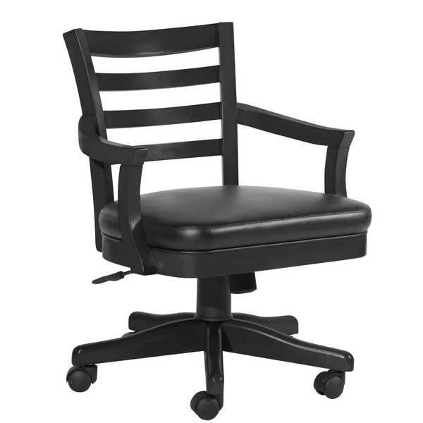 Sterling Poker Chair - Onyx